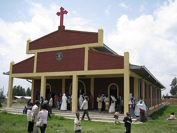 St. Mary's Catholic Church in Goba, Bale, Oromia, Ethiopia